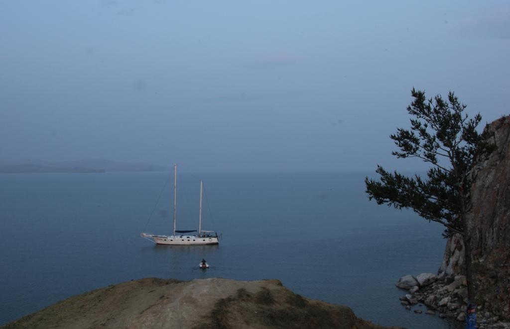 путешествие на яхте 1